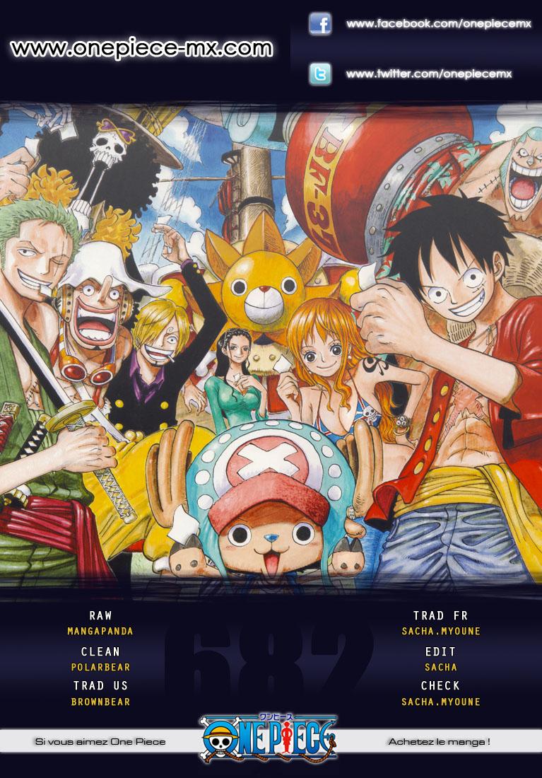 Lecture en ligne One Piece 682 page 1