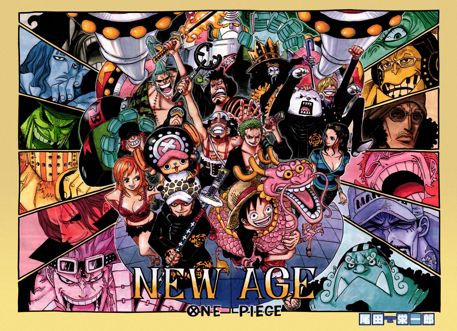 Lecture en ligne One Piece 693 page 1