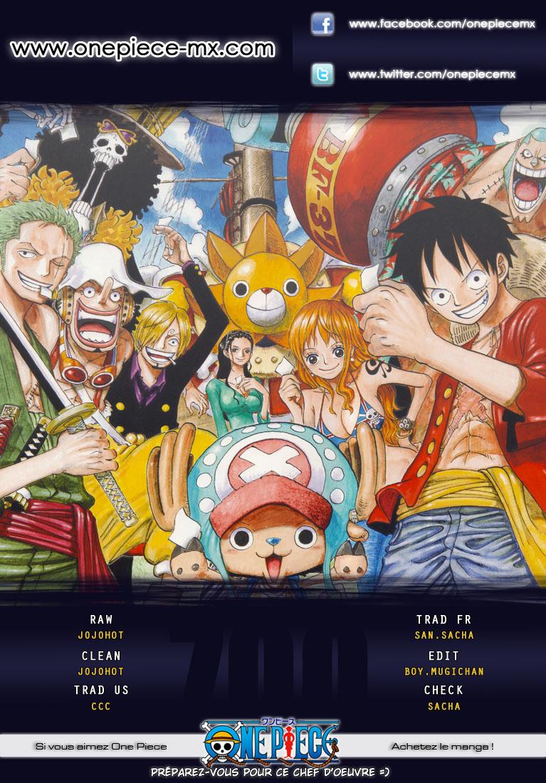 Lecture en ligne One Piece 700 page 1