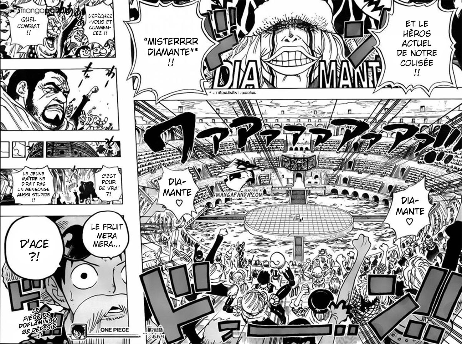Lecture en ligne One Piece 702 page 15