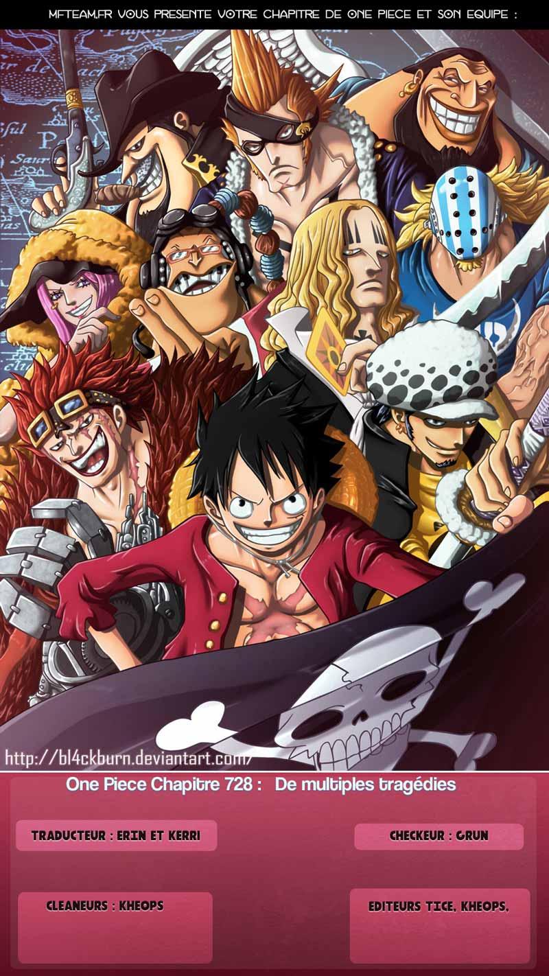 Lecture en ligne One Piece 728 page 1