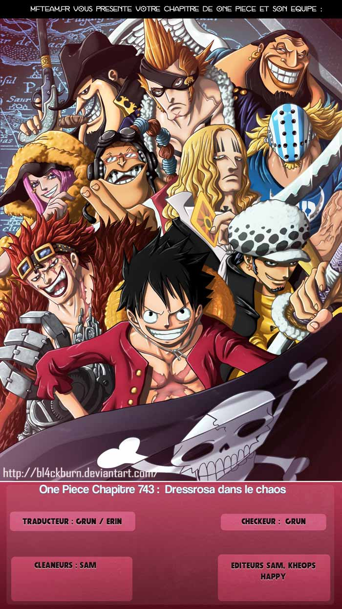 Lecture en ligne One Piece 743 page 1