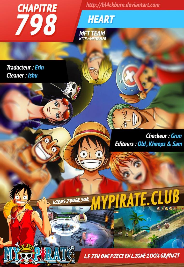Lecture en ligne One Piece 798 page 1