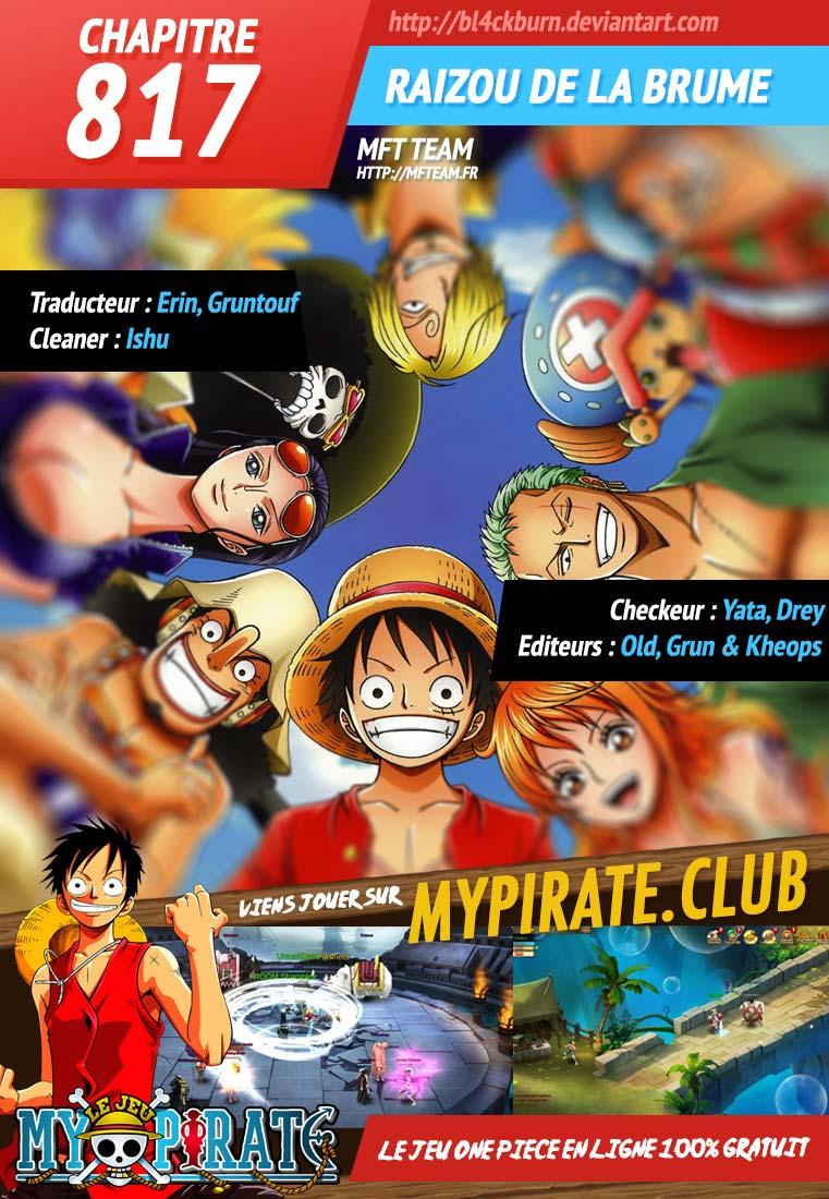 Lecture en ligne One Piece 817 page 1