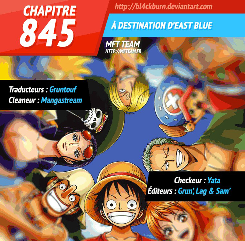 Lecture en ligne One Piece 845 page 1