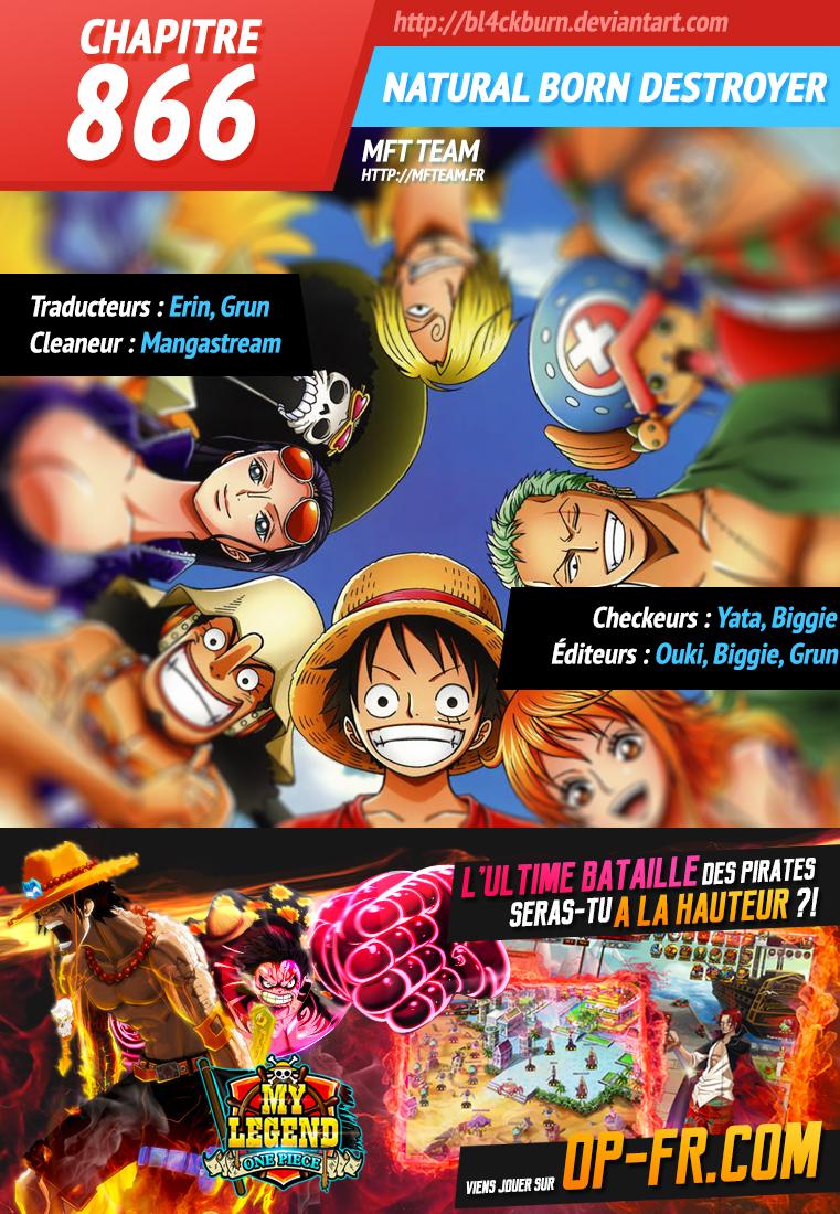 Lecture en ligne One Piece 866 page 1