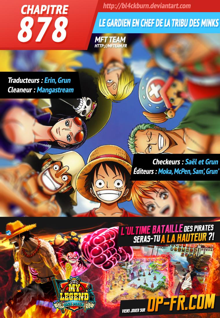 Lecture en ligne One Piece 878 page 1