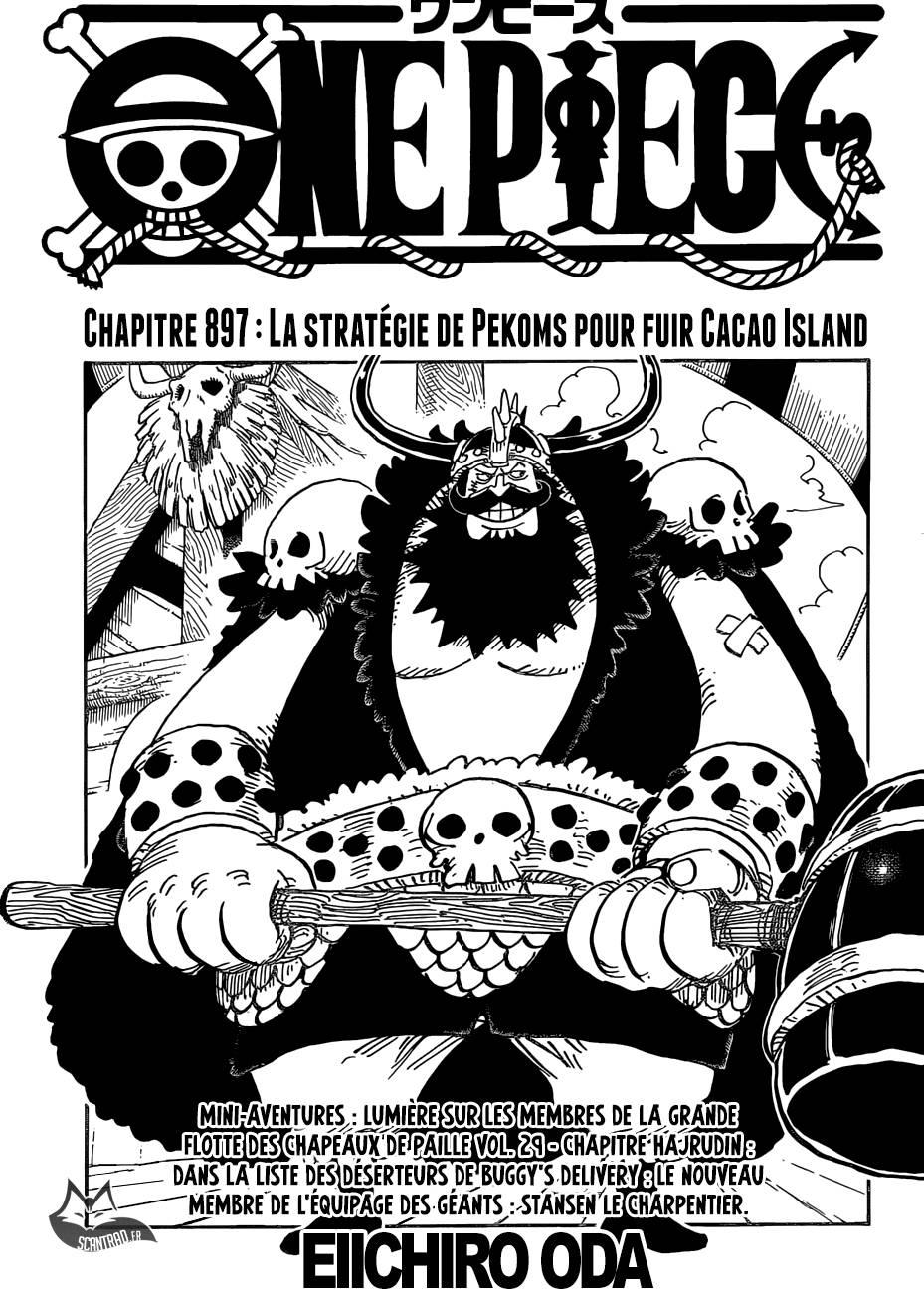 Lecture en ligne One Piece 897 page 1