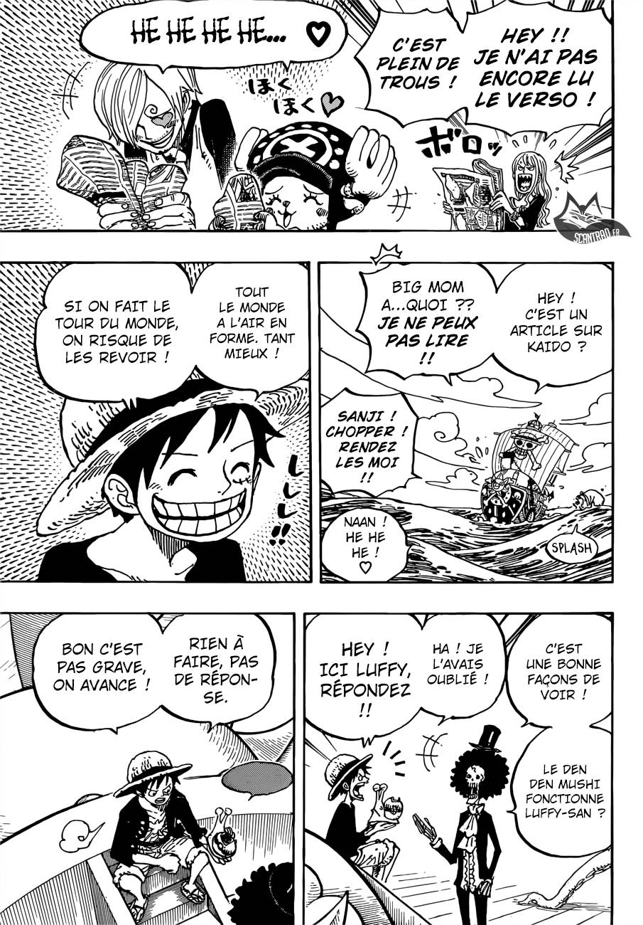 Lecture en ligne One Piece 910 page 6