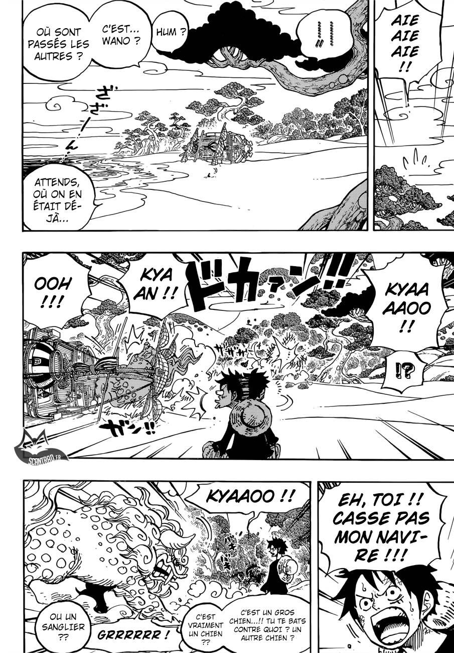 Lecture en ligne One Piece 910 page 13