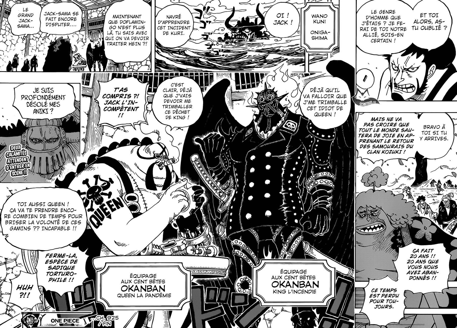 Lecture en ligne One Piece 925 page 16