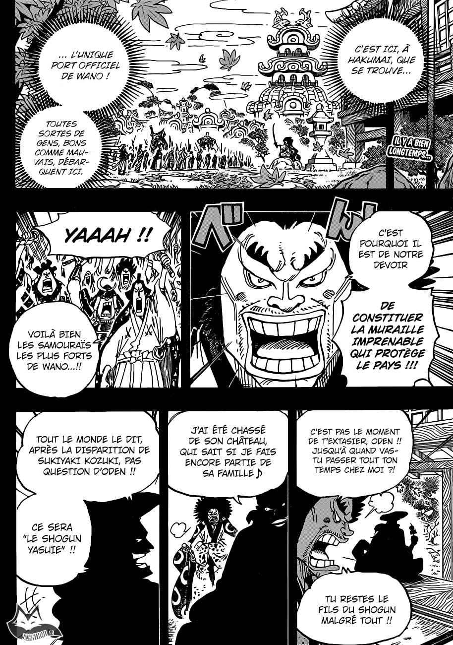 Lecture en ligne One Piece 942 page 3