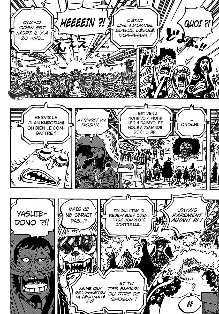 Lecture en ligne One Piece 942 page 10