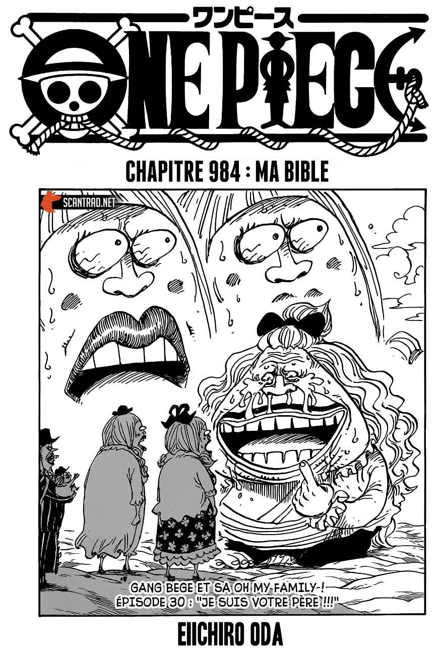 Lecture en ligne One Piece 984 page 1