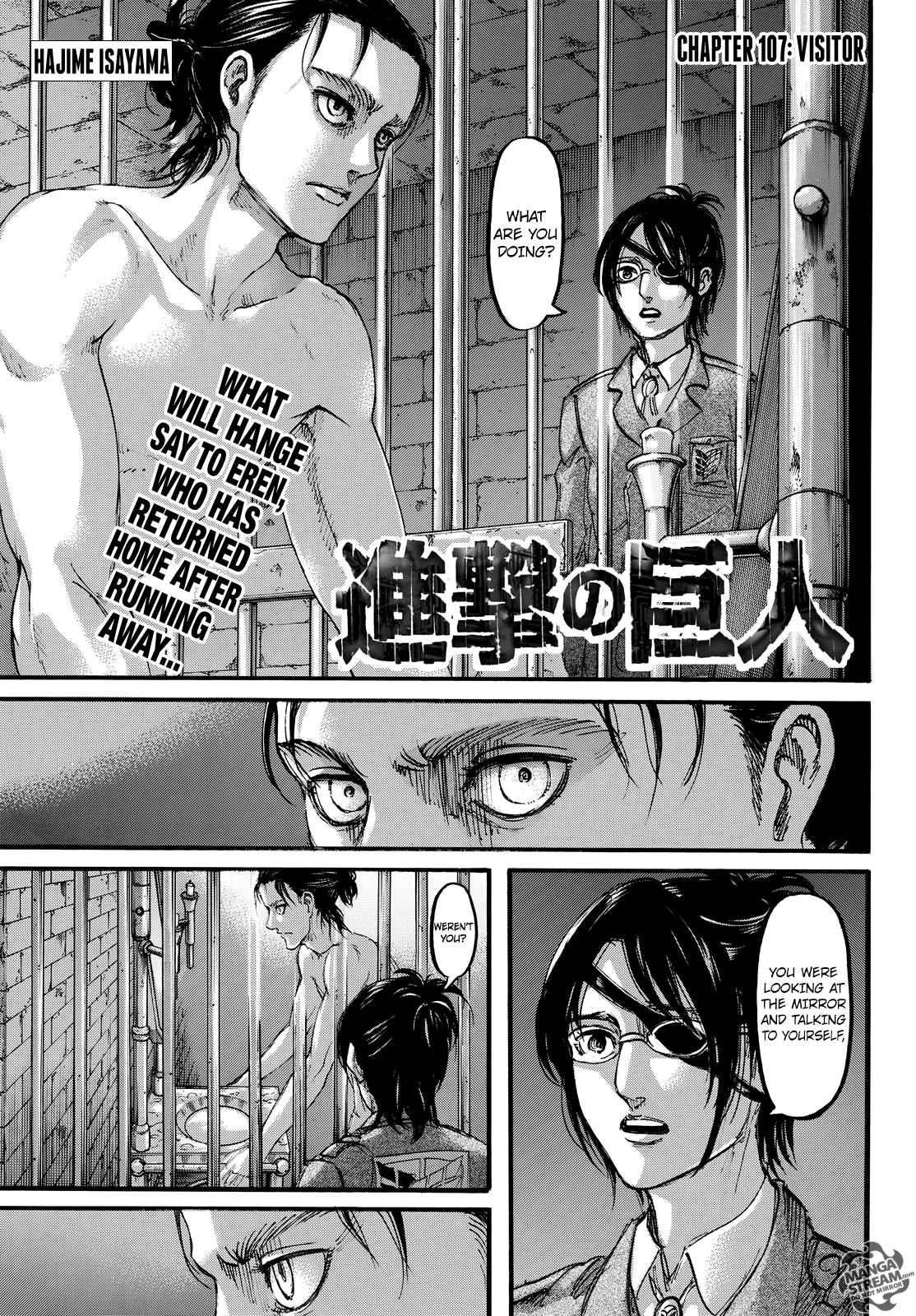 Lecture en ligne Shingeki No Kyojin 107 page 1