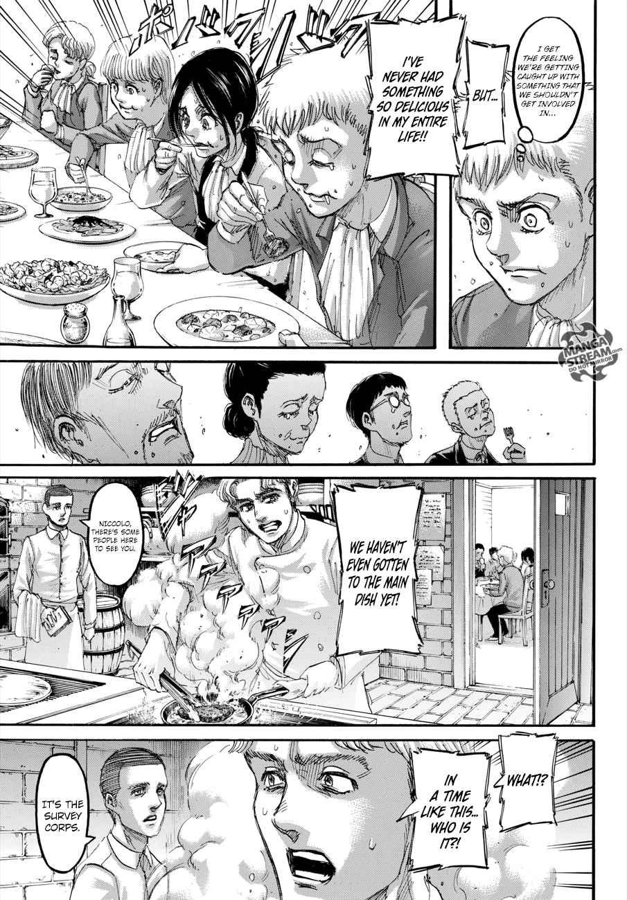 Lecture en ligne Shingeki No Kyojin 111 page 20