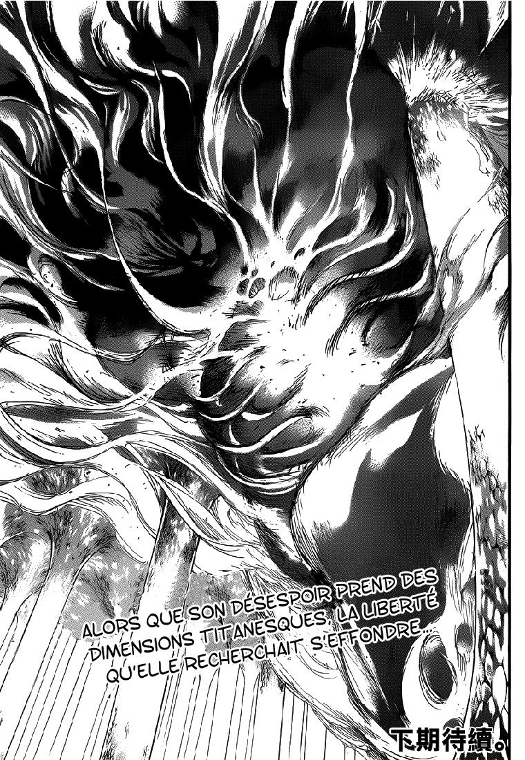 Lecture en ligne Shingeki No Kyojin 65 page 45