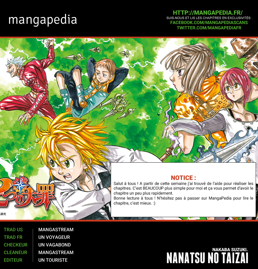 Lecture en ligne The Seven Deadly Sins 158 page 1