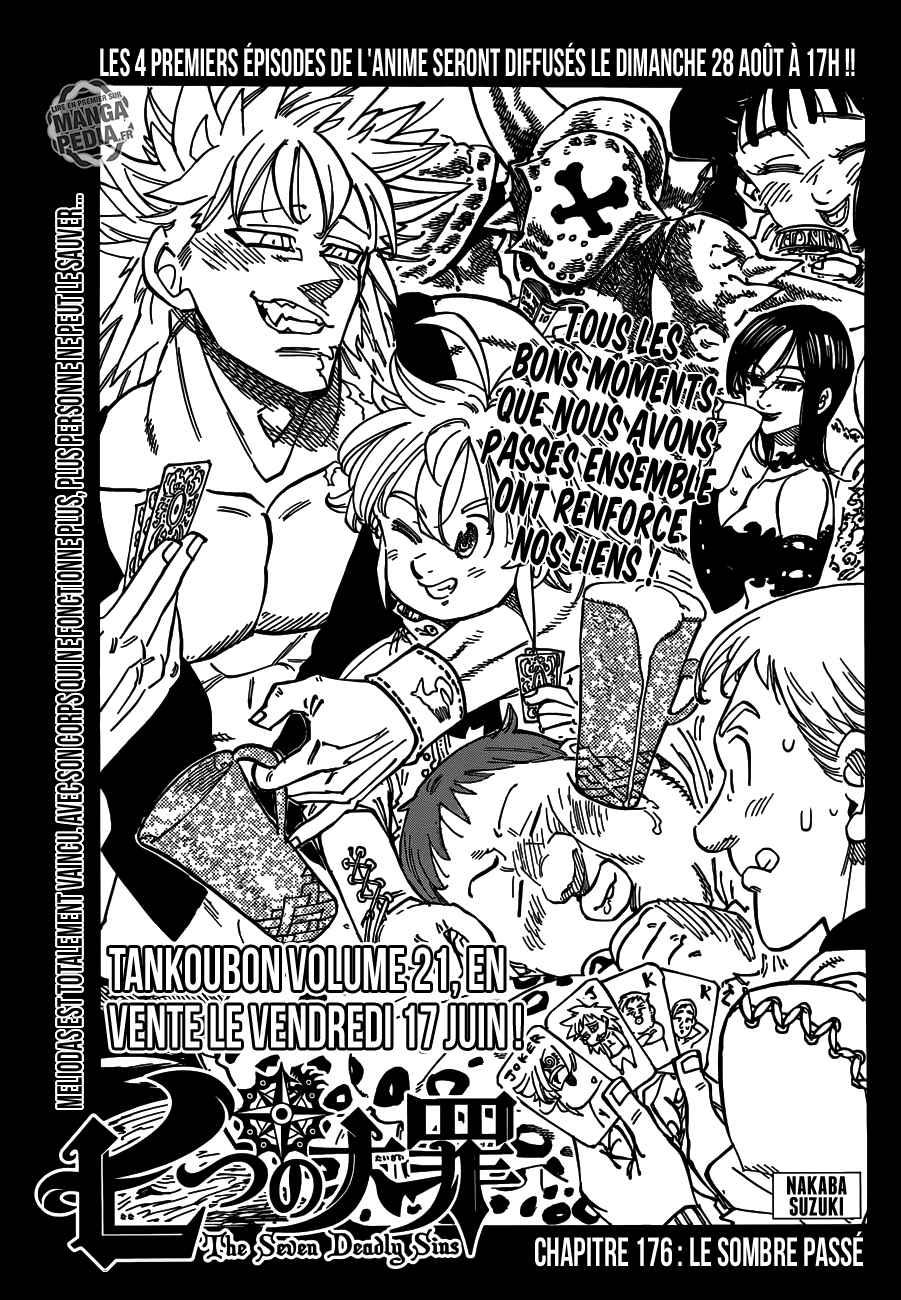 Lecture en ligne The Seven Deadly Sins 176 page 1
