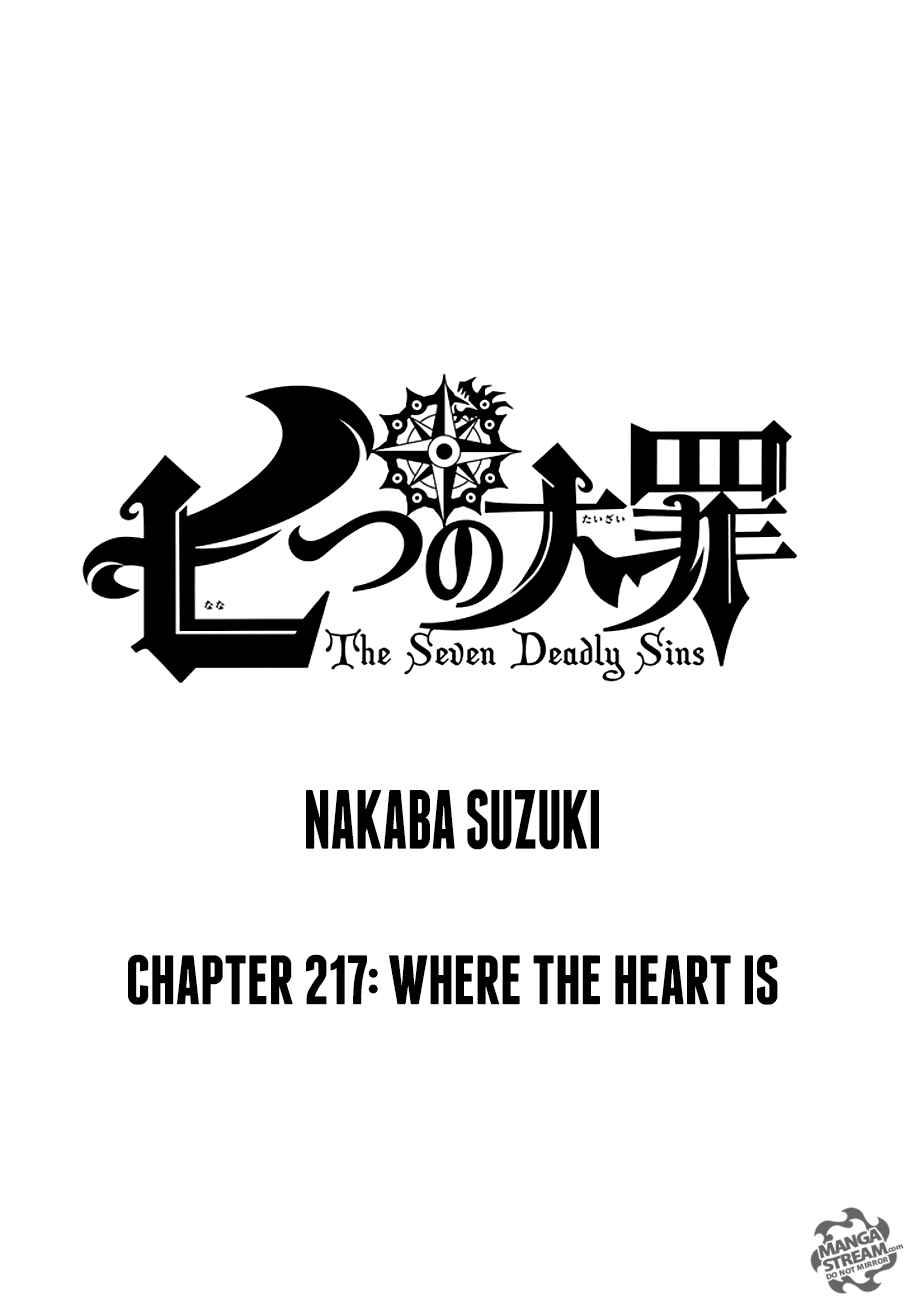 Lecture en ligne The Seven Deadly Sins 217 page 1