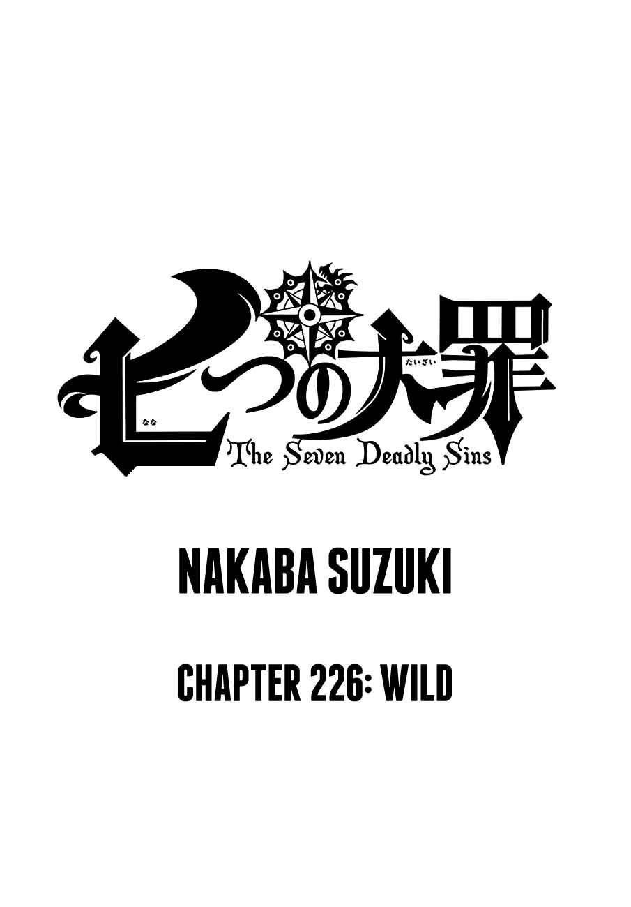 Lecture en ligne The Seven Deadly Sins 226 page 1