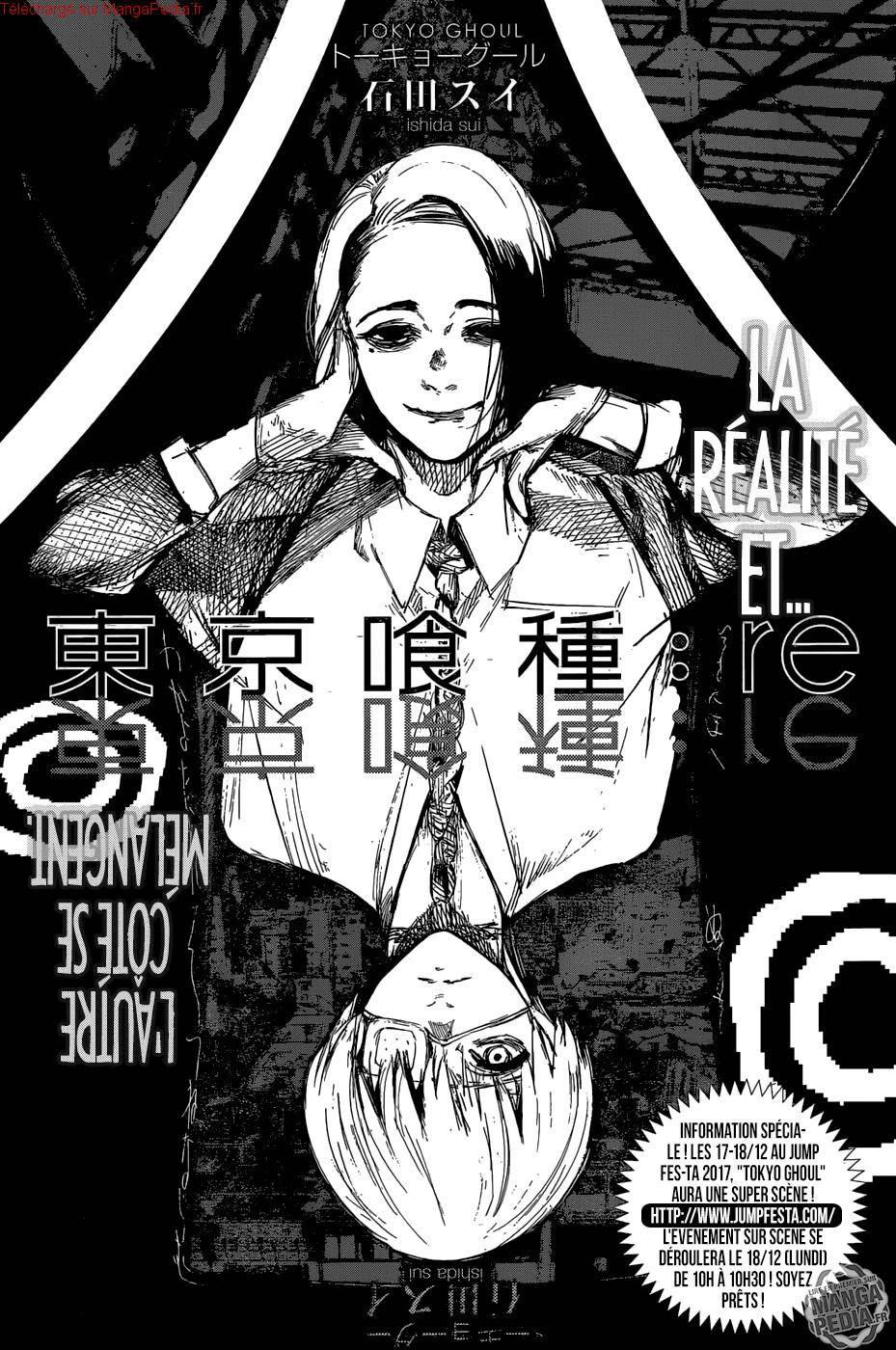Lecture en ligne Tokyo Ghoul Re 101 page 1