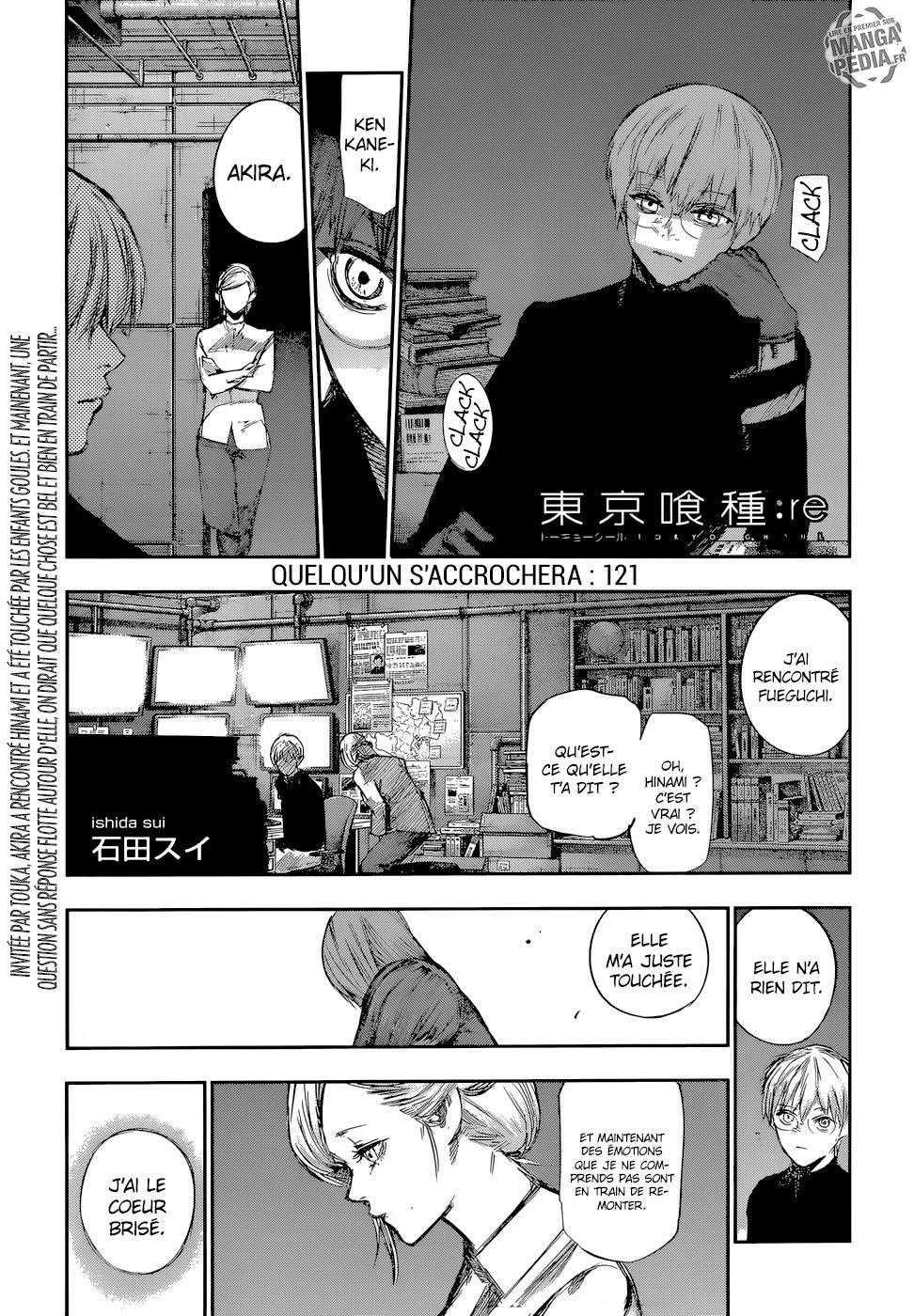 Lecture en ligne Tokyo Ghoul Re 121 page 1