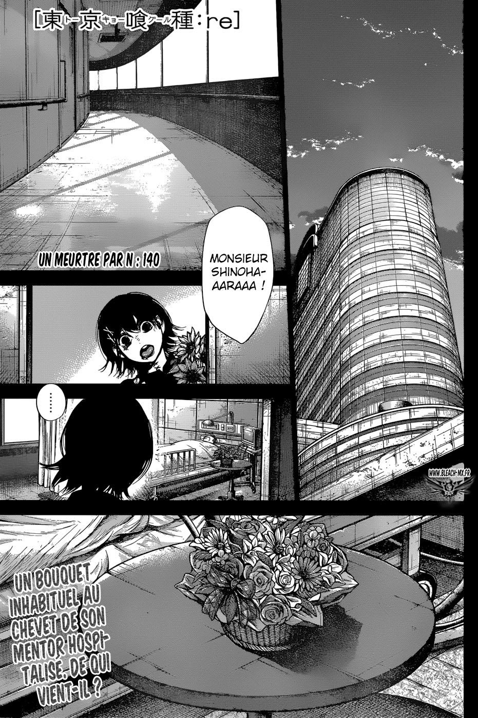 Lecture en ligne Tokyo Ghoul Re 140 page 1