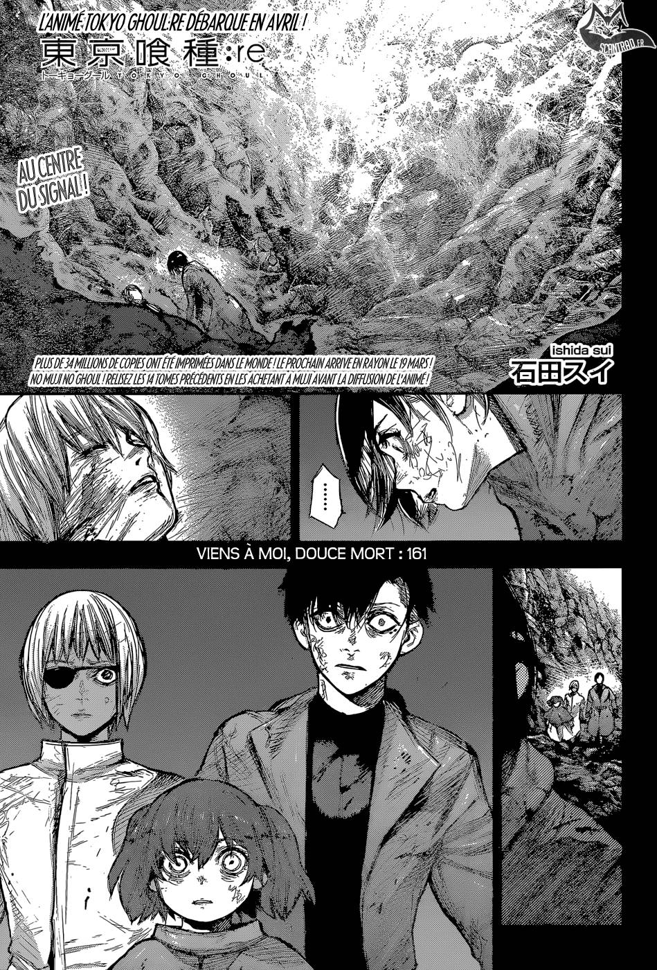 Lecture en ligne Tokyo Ghoul Re 161 page 1