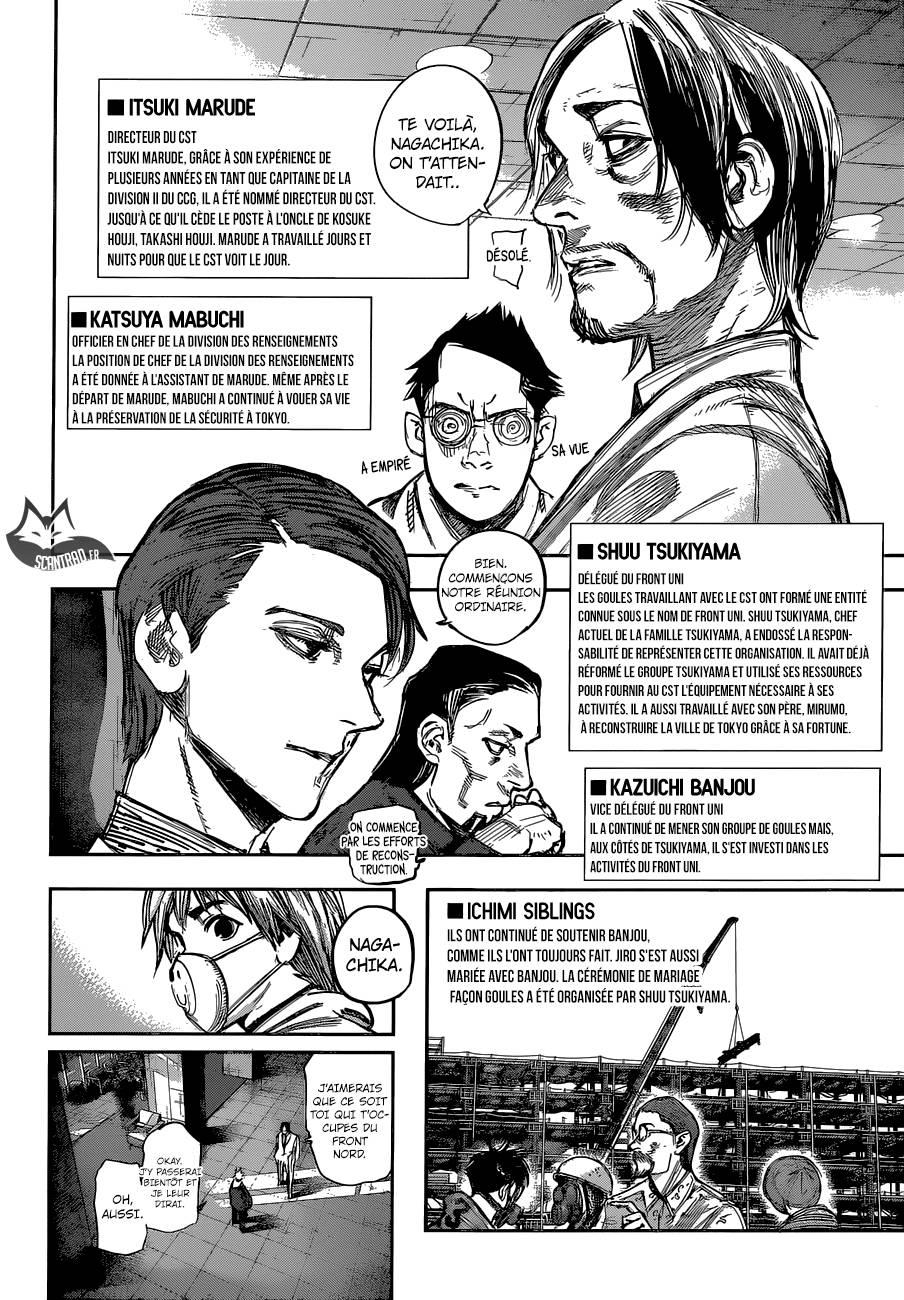 Lecture en ligne Tokyo Ghoul Re 179 page 5