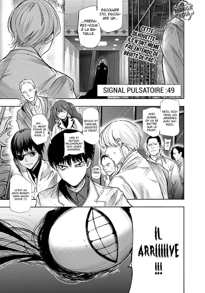 Lecture en ligne Tokyo Ghoul Re 49 page 1