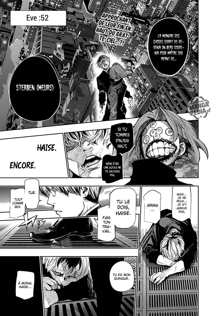 Lecture en ligne Tokyo Ghoul Re 52 page 1