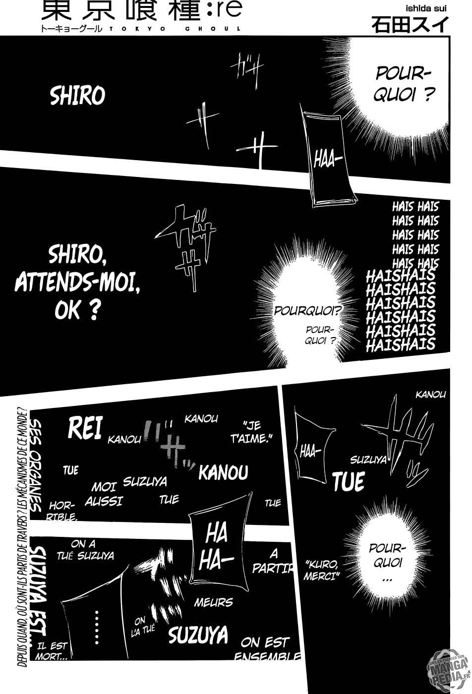 Lecture en ligne Tokyo Ghoul Re 87 page 1