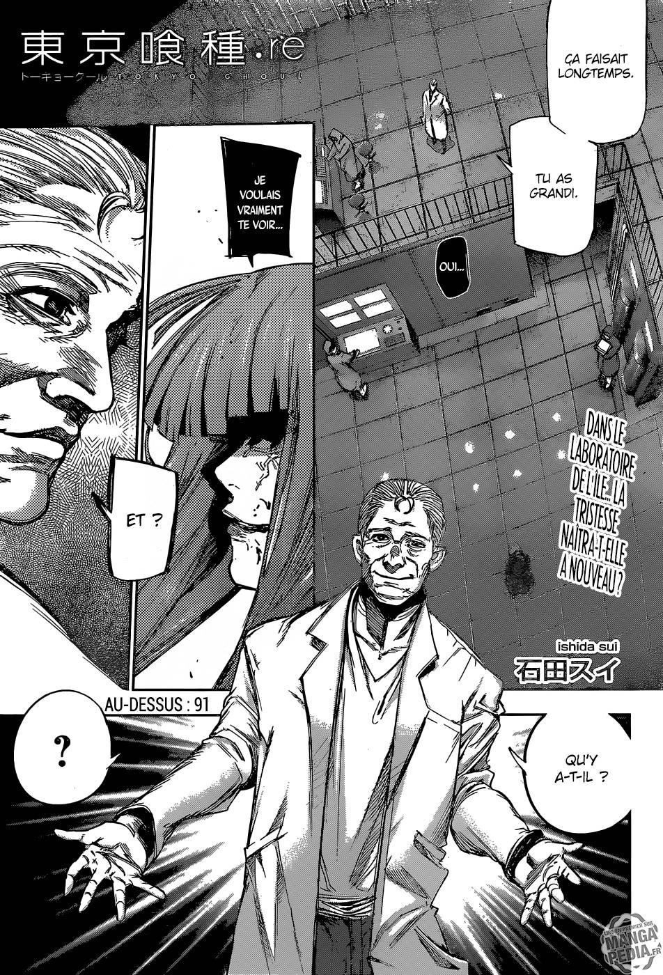 Lecture en ligne Tokyo Ghoul Re 91 page 1