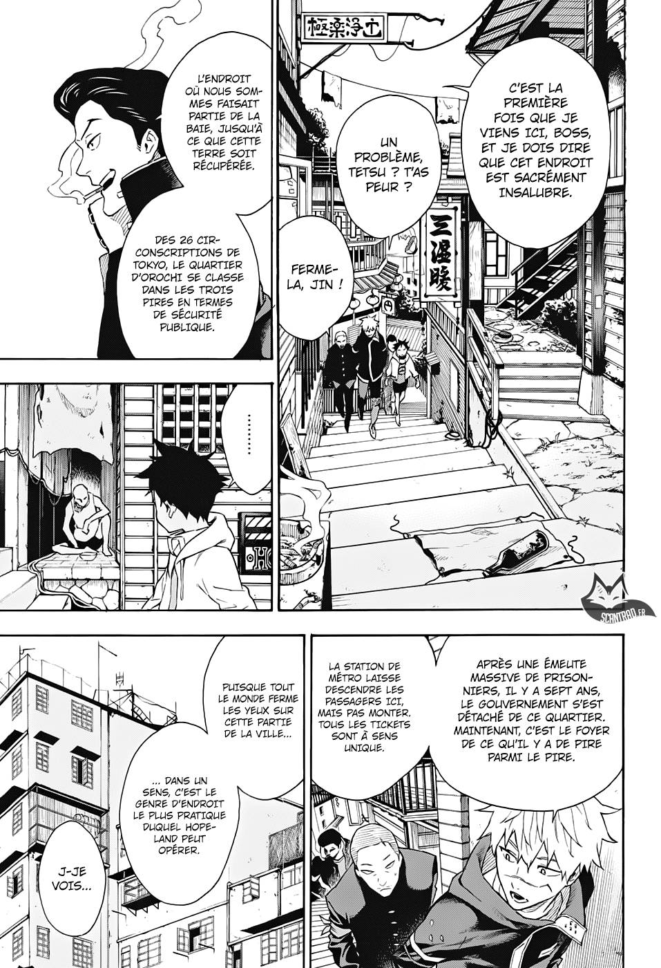 Lecture en ligne Tokyo Shinobi Squad 14 page 4