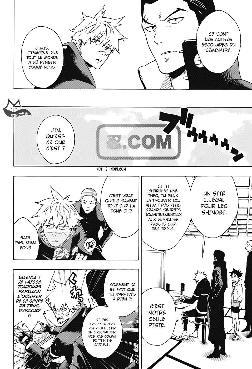 Lecture en ligne Tokyo Shinobi Squad 14 page 9