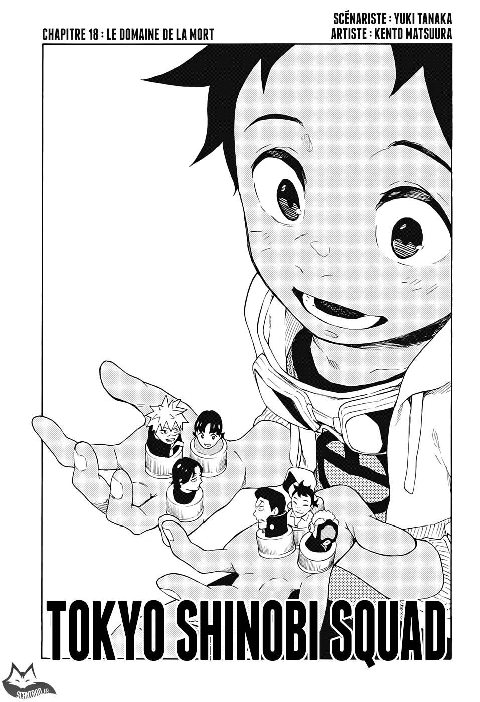 Lecture en ligne Tokyo Shinobi Squad 18 page 1